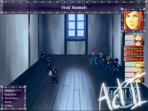Vel Auria RPG Maker XP games project bc vacant sky indie rpg free anime game